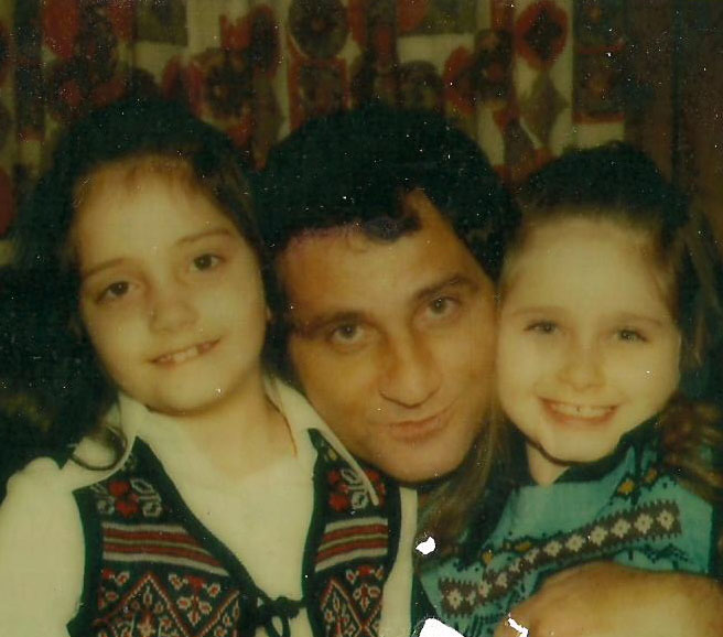 Amil and his two daughters
